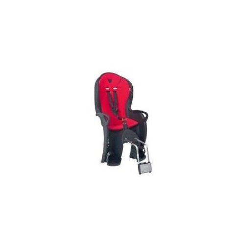 Black & Red Hamax Kiss Rear Frame Mount Childseat - Child Seat Mounted Cycle -  hamax kiss rear child seat mounted cycle bike kids childrens cycling