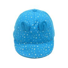 Cap Baby Hat Sunscreen Breathable Baby Cuff Cotton Baseball Cap Visor