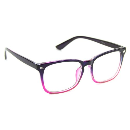 e81ebe655 Cyxus Blue Light Filter Computer Glasses for Blocking UV Headache [Anti Eye  Fatigue] Vintage Eyeglasses, Unisex(Men/Women) (Gradient Pink) on OnBuy
