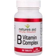 Natures Aid Vitamin B Complex (improved Formula) 90 Tablets