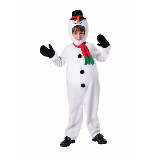 Kids Big Belly Snowman Costume | Christmas
