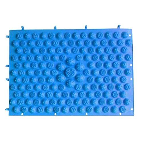 Set of 2 Foot Massager Therapy Mat Foot Massage Pad Shiatsu Sheet [Blue]