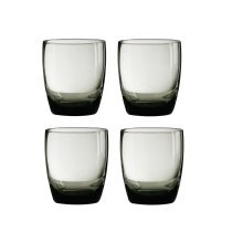 Mixer Glasses - Smoke Grey, Set of 4