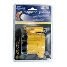 Magnetic LED Hanging Light - Brookstone Spot -  brookstone magnetic spotlight