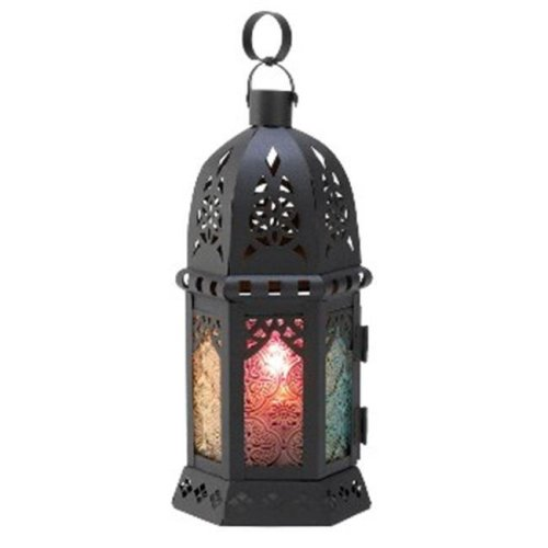 Zingz & Thingz 57070452 Enchanted Rainbow Candle Lantern