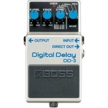 Boss DD-3 Digital Delay Compact Guitar Effects Pedal