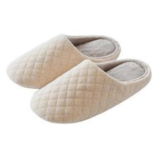 Japanese Ladies Winter Warm & Cozy  Indoor Shoes House Slipper, Beige