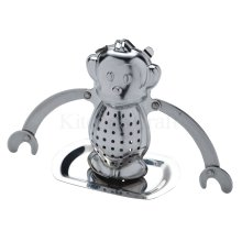 Le'xpress Stainless Steel Novelty Tea Infuser - Lexpress Monkey Kitchen Craft -  lexpress stainless steel tea infuser novelty monkey kitchen craft