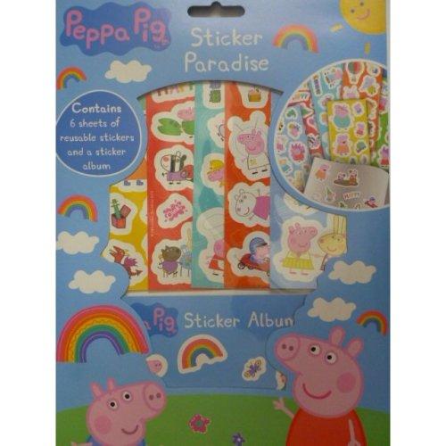 Peppa Pig Sticker Paradise Album