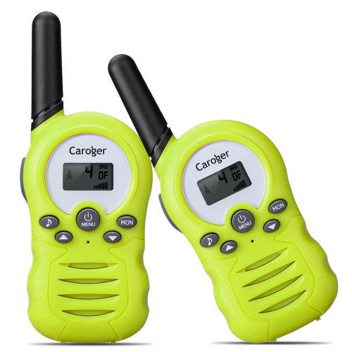 2* Kids Walkie Talkies Fun Toy Intercom Set 8CH Two-Way Radio 3 Miles