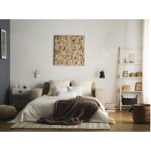 2 Seater Sofa Bed Fabric SANDE