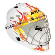 Mylec Ultra Pro II Goalie Mask (Flame)