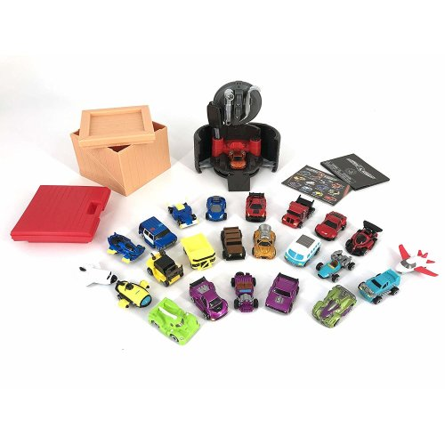 Gearhead 51574 Vehicle Playset, Multi-Colour - 24 Cars to Collect