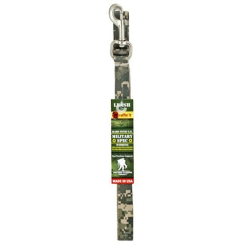 Westminster Pet Products 81055 1 in. x 5 ft. Military Spec Print Leash - Camouflage