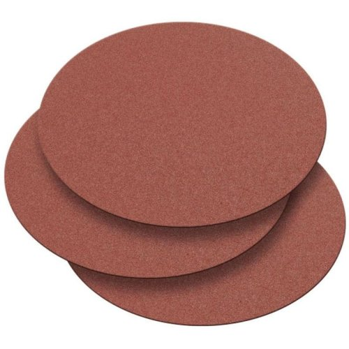 Record Power DS300/G3-3PK 300mm 120 Grit 3 Pack of Self Adhesive Sanding Discs