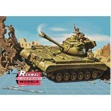Rvm7821 - Revell Monogram 1:32 - M47 Patton Tank Ltd Edt