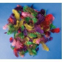 Pbx2470043 - Playbox - Guinea Hen Feathers - 100 Pcs