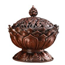 Incense Burner Stove Vaporizer Tea Room Temple Ornaments Auspicious Sandalwood
