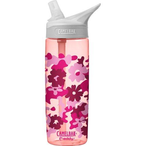 Cambelbak Kid's Eddy Water Bottle 0.6L water bottle, Children's, 1580601160, Floral Camo, 600ml