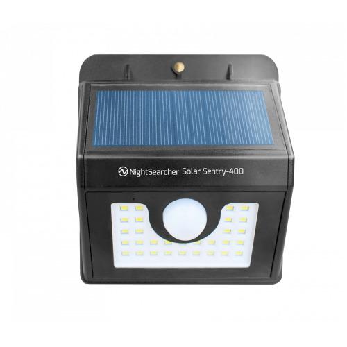 NightSearcher Solar Sentry 400 Motion Sensor Wall Light, 400 Lumens