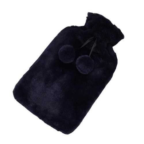 [Blue-1] Big Hot Water Bottle Cute Hot Water Bag Hot Water Bottle With Cover