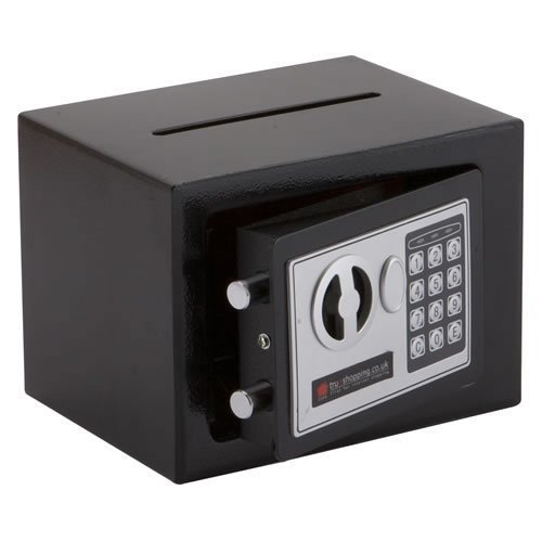 NEW TRUESHOPPING® COMPACT ELECTRONIC DIGITAL HOME SECURITY STEEL SAFE 3.5KG WITH CONVENIENT POSTING SLOT 4.5 LITRE CAPACITY