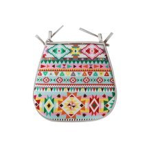 Home Office Trapezoid Seat Cushions Chair Cushions Pads, Multicoloured