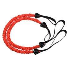 Fitness&Exercise Band High-elastic Resistance Auxiliary Elastic Rope Orange
