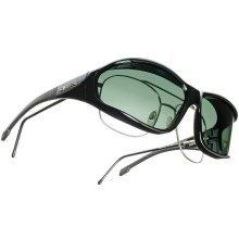 Horizon Wrap over Glasses (black Frame)-uv Protection