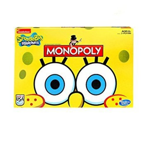SpongeBob SquarePants Edition Monopoly Family Board Game Brand New Sealed