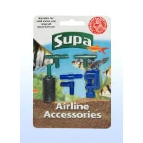 Supa Airline Mxd Accessories (Pack of 12)