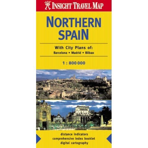 Northern Spain Insight Travel Map
