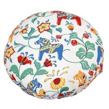 Detachable and Washable Cotton Floor Pillow Cushion 45x45cm [A]