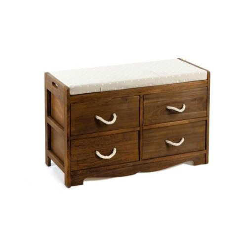 Geko Revesby 4 Drawer Storage Bench 76 x 33 x 51 cm