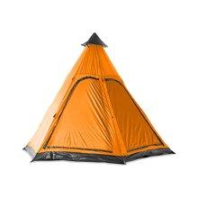Milestone 2 Man Unisex Teepee Tent, Orange, One Size