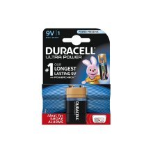 Duracell Ultra Plus Alkaline Battery PP3