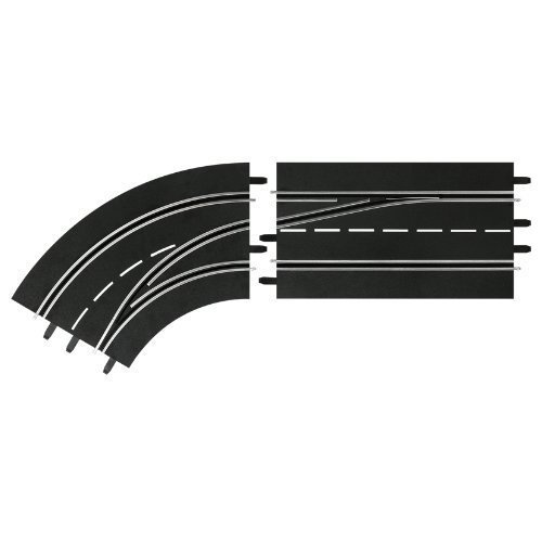 Lane change curve left, DIGITAL 132/124 Track Accessory - Carrera CA30363