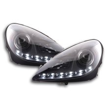 DRL Daylight headlight  Mercedes SLK R171 black