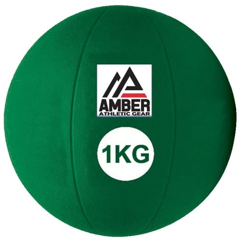 Rubber Medicine Ball for Strength Training Workouts & Muscle Building