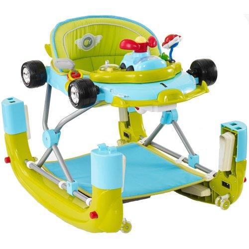My Child F1 Car Walker Racing Green