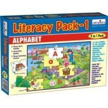 Creative Pre-school Literacy Pack 1 Game - Cre1008 Preschool -  cre1008 creative preschool literacy pack