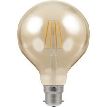 Crompton Lamps LED Light Bulb Antique-Bronze Filament, B22d, 5 W