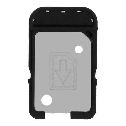 Nano-SIM card tray replacement part for Sony Xperia XA - Black