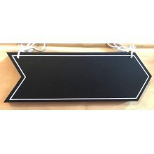 Black Arrow Hanging Chalkboard Signs Pack Of 2 Wedding Signs Birthday Sign