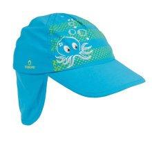 Unisex Kids Fedora Hat Bucket Hat, Lightweight Cap Sunhat Neck Protection Blue
