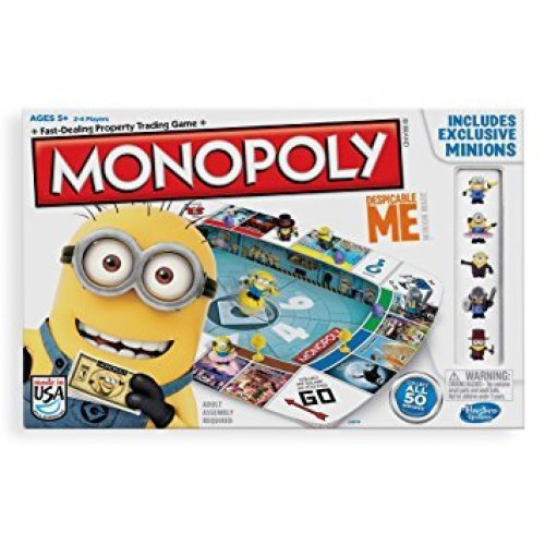 Despicable Me 2 Monopoly Family Board Game New Sealed Incl. Exclusive Minions