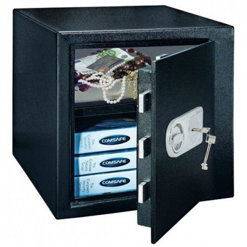 High Security Home Office Key Lock Safe Monaco 45 Rottner