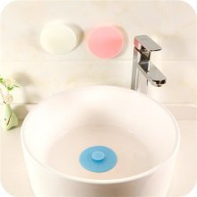 PVC Circle Drain Stopper Hair Catche Sink Bathtub Kitchen Floor Bathtub Stopper Sink Water Plug