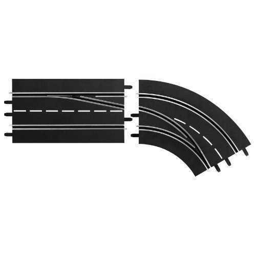 Lane change curve right, DIGITAL 132/124 Track Accessory - Carrera CA30365