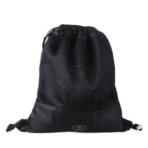 Basketball Soccer Volleyball Pocket Training Bag Outdoor Sport Organizer Backpack-Black